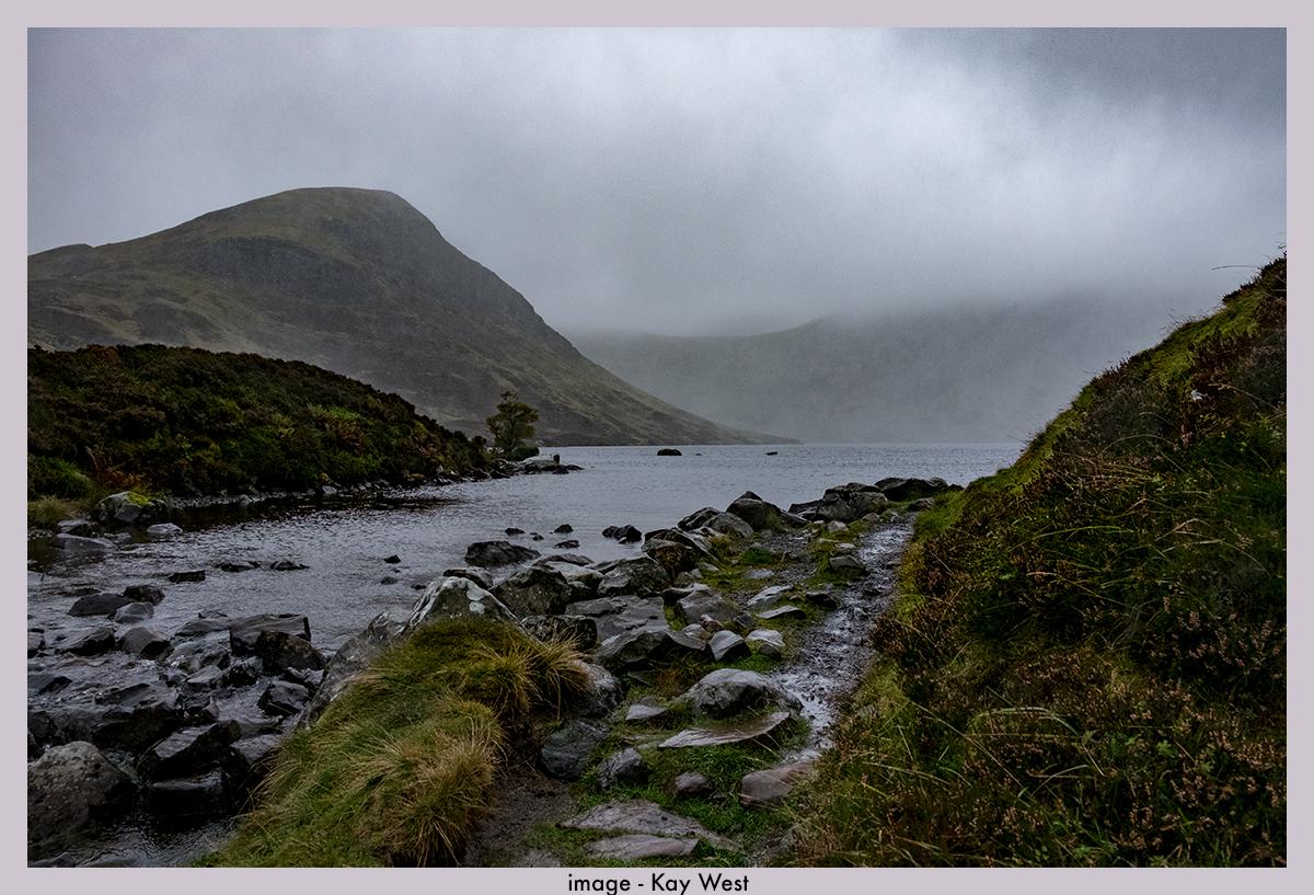 Cloud over Loch Skeen